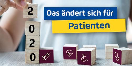 Gesundheit: Das ändert sich 2020 für Patienten