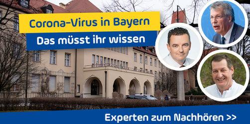 Zum Nachhören: Experten zu den wichtigsten Fragen rund um das Corona-Virus