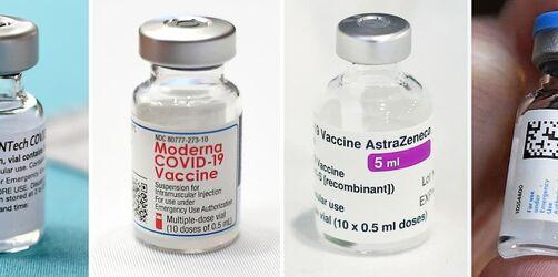 Moderna, AstraZeneca, BioNTech/Pfizer und Johnson & Johnson: Die Impfstoffe im Vergleich