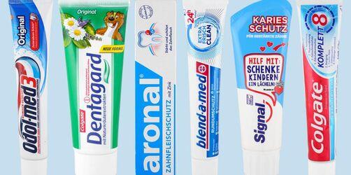 Zahnpasta im Test: Diese Produkte fallen durch