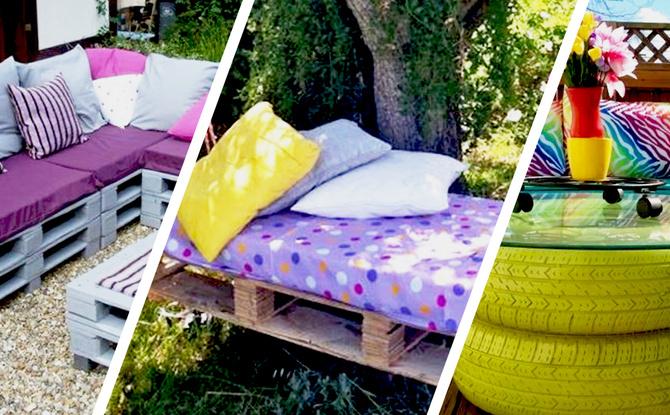 DIY: Tolle Ideen für euren Garten zum Selbermachen