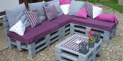 DIY: Sofa aus Europaletten