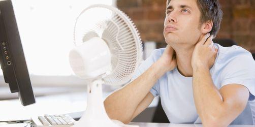 Schwül, warm, dampfig - Die besten Tipps gegen Hitze in der Arbeit