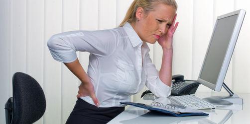 Richtig sitzen im Job - Die besten Tipps für einen gesunden Rücken