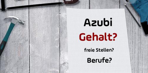 Geplanter Mindestlohn für Azubis: In welchem Beruf ihr wie viel verdient