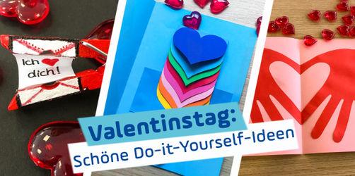 Valentinstag: Tolle DIY-Ideen