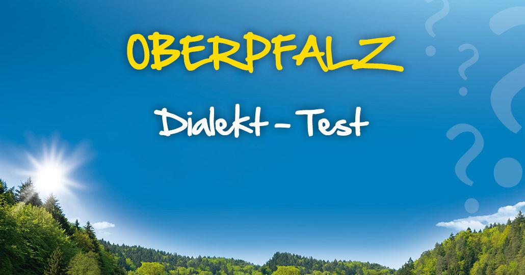 Dialekt Oberpfalz