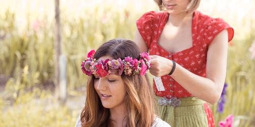 Frisuren & Accessoires fürs Volksfest