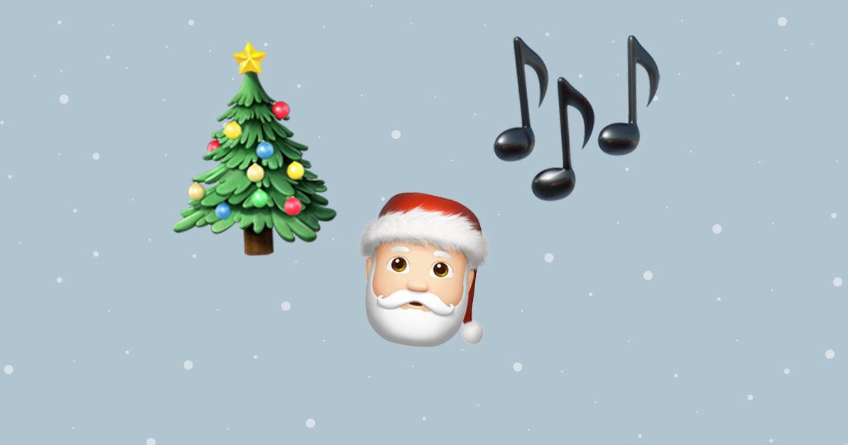 Emoji-Dolmetscher gesucht! Erkennt ihr die Weihnachtslieder ...