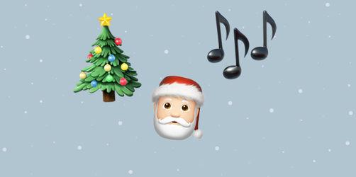 Emoji-Dolmetscher gesucht! Erkennt ihr die Weihnachtslieder?