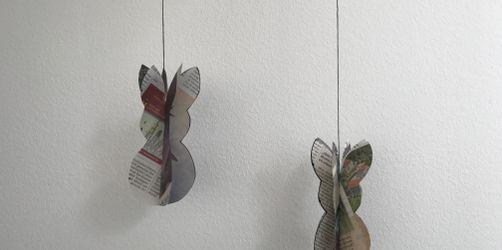 Do-it-Yourself: Süße Osterhasen-Aufhänger