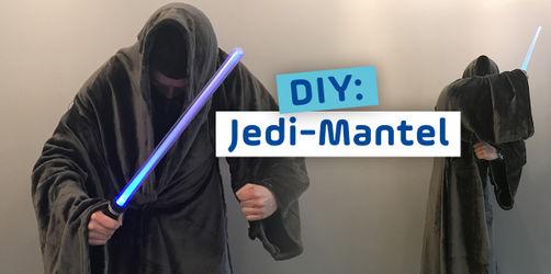 DIY: Star Wars Jedi-Mantel - Trendkostüm für Männer & Jungs zu Fasching