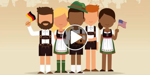 Wiesn for Americans: Diese Videos erklären den Amis wie es geht