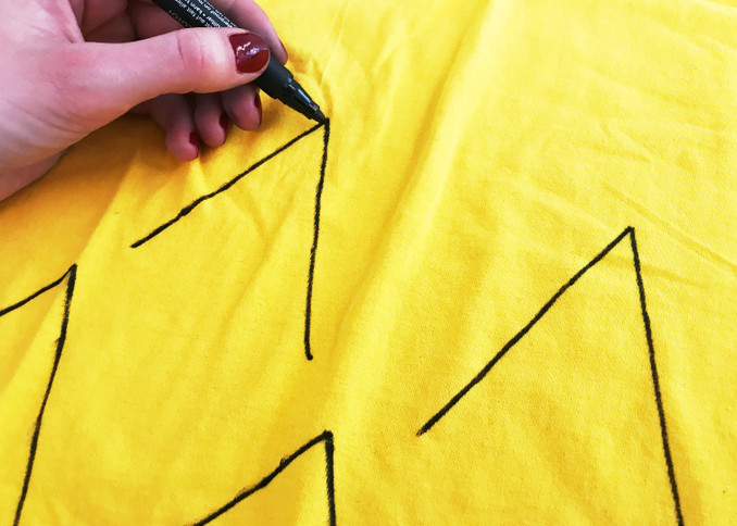 DIY: Last-Minute-Ananas-Kostüm