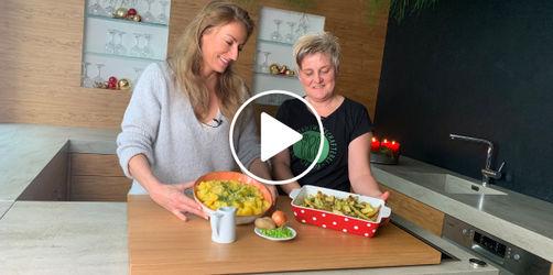 Für Weihnachten: Kartoffelsalat wie von Oma