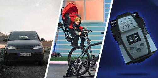 Solar-E-Auto, Fahrradsitze als Buggy & Co: Das sind die neuesten Erfindungen aus Bayern