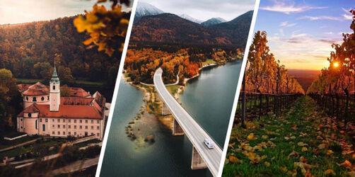 Bayerns schönste Foto-Spots: Die besten Tipps für tolle Herbst-Bilder