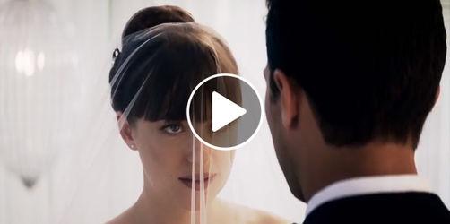 Fifty Shades of Grey 3: Trailer enthüllt Hochzeitskleid