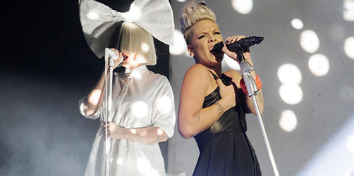 "Sia & P!nk – ""Waterfall"""