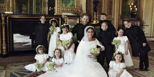 Traumhochzeit: Die offiziellen Hochzeitsfotos von Harry und Meghan sind da!