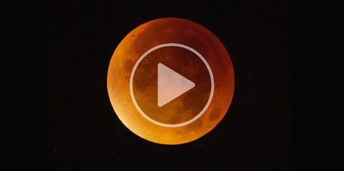Super Blau Blutmondfinsternis: So war das Himmelsspektakel