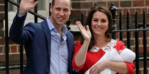 Der Name ist raus: So heißt das dritte Baby von Kate und William