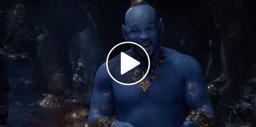 """Neuer """"Aladdin""""-Trailer: Disney lässt den Geist Dschinni aus der Flasche"""
