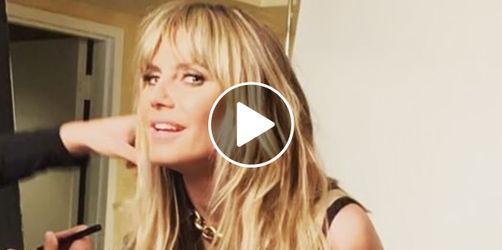 Verdächtiges Video: Verrät Heidi Klum hier ihre Schwangerschaft?