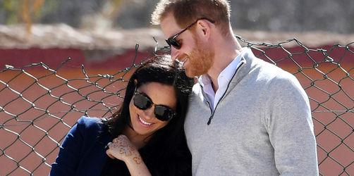 """Britische Medien: """"Wehen haben eingesetzt"""" - Royal-Baby von Meghan und Harry auf dem Weg"""