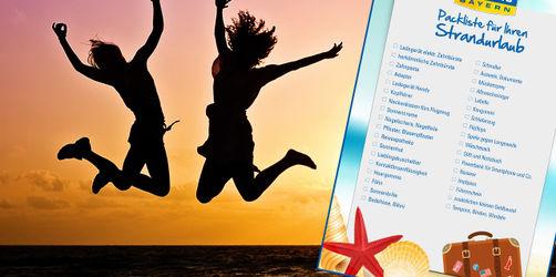 Die ANTENNE BAYERN Packliste für euren Strandurlaub