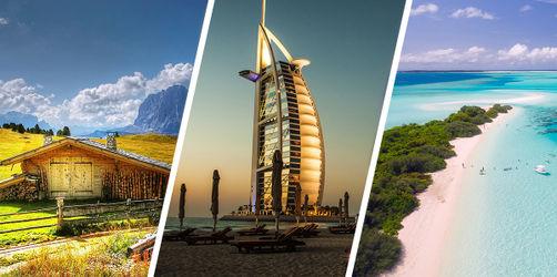 Die besten Reiseziele für jeden Monat