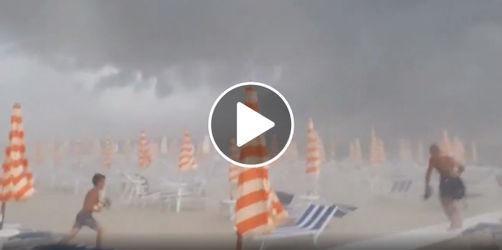 Sturm und Hagel an der Adria-Küste: Darauf müssen sich Italien-Urlauber einstellen