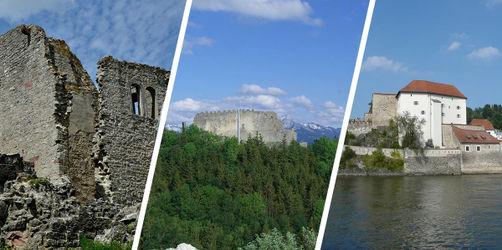 Burgen und Ruinen: Das sind die Geheimtipps in eurem Regierungsbezirk