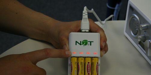 Dieses sensationelle Gerät lädt Einwegbatterien auf