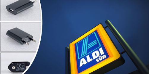 ALDI ruft Smartphone-Netzteil zurück