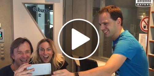 """Video: App des Tages - Leiki & Indra testen """"Face Swap Live"""""""