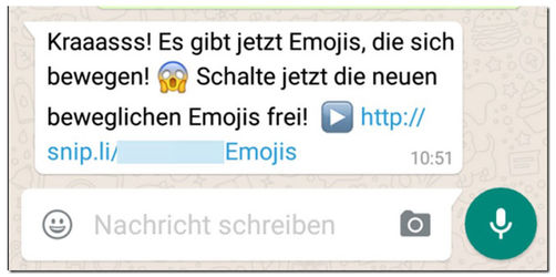 Achtung: Neue WhatsApp-Falle - Finger weg von beweglichen Emojis
