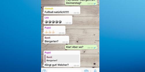 WhatsApp: Das ist neu und super praktisch im Gruppenchat