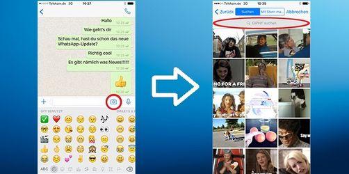 WhatsApp: So verschickt und erstellt ihr GIFs