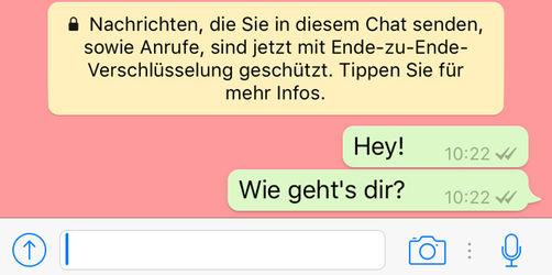 WhatsApp: Neues Sicherheits-Update verschlüsselt alle Daten