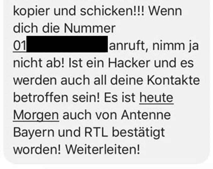 Antenne Bayern Gewinnspiel Fake