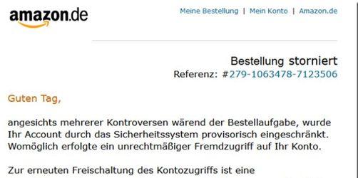 Abzock-Falle bei Amazon: Gefälschte E-Mails im Umlauf