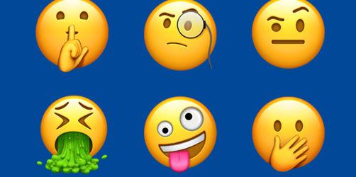 240 neue Emojis für Apple Nutzer. Das bekommt ihr mit dem neuen iOS Update.