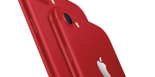 Apple sieht Rot: Am Freitag erscheint das knallige neue iPhone 7