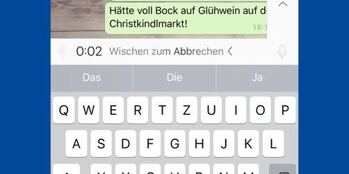 WhatsApp: Jetzt noch leichter Sprachnachrichten verschicken