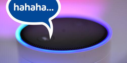 Zum Fürchten: Alexa lacht plötzlich drauf los!