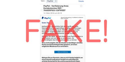 Achtung Datenklau: Gefälschte PayPal Mails im Umlauf! So erkennt ihr sie sofort!