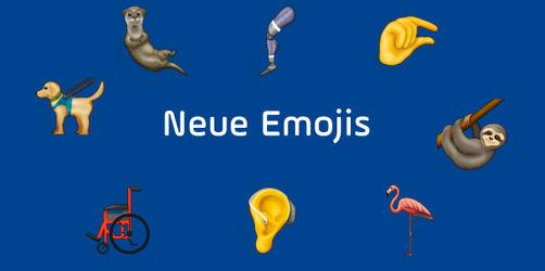 Auf diese neuen Emojis könnt ihr euch freuen