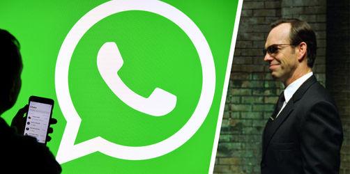 """WhatsApp-Nutzer aufgepasst! Virus """"Agent Smith"""" jetzt auch in Deutschland"""