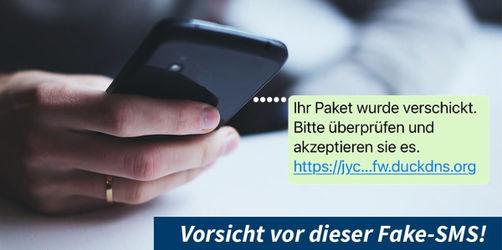 Bayerisches LKA warnt vor dieser Fake-SMS: Darauf solltet ihr achten
